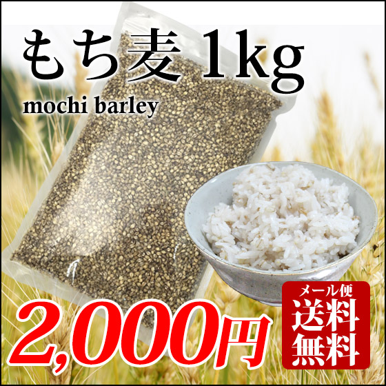 もち麦 1kg 国産